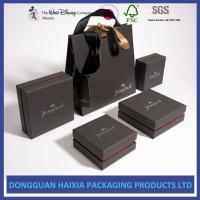 Luxurious Appearance Custom Packaging Boxes Good Craftsmanship For Jewelry Set Manufactures