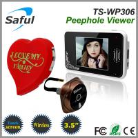 China 2.4GHz digital frequency video peephole viewer TS-WP306 on sale