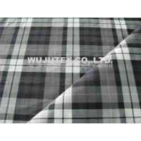 Competitive Price Stretch Plaid Cotton Nylon Fabric , Plain Weave Cloth Material Manufactures