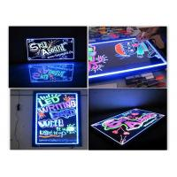 China Full Color Deluxe Erasable LED Message Board 30×40cm Flashing Animation on sale