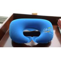 PVC inflatable pillow, inflatable neck pillow, travel pillow, inflatable outdoor pillow inflatable water toys Manufactures