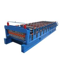 China Stepped Sheet Roofing Tile Forming Machine Ibr Roof Panel Forming Machine on sale