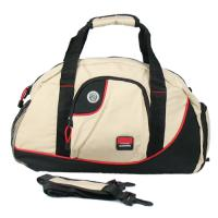Fashion 600D polyester water-proo Overnight Travel Bags with shrinkage character Manufactures