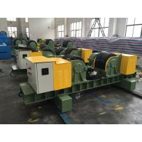 Adjustable Pipe Welding Rotator With Manual Travel For Heavy Workpiece Manufactures
