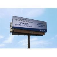 Customized Size Outdoor LED Display Panels 4500 Nits With Video Display Function Manufactures