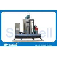 Full Automatic Seawater Ice Machine For Fishing 1000KG/Day , R404A Refrigerant Manufactures