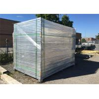 1800mm x 2900mm HDG powder coated temporary construction site fence panels/Construction Security Fencing Manufactures