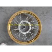 China Motocross GXT200 FRONT WHEEL ASSY (DRUM BRAKE) OEM Motorcycle parts GXT200 on sale