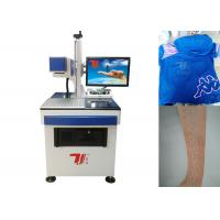 Quality 10640nm Beam Co2 Laser Marking Machine For Fabric , Clothing Printing for sale