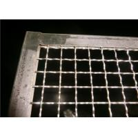 Buy cheap Food Grade SS Oven Wire Mesh Tray For Food Baking , Polishing Processing from wholesalers