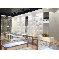 High End Attractive Lighting Jewelry Store Display Cases / Jewelry Store Fixtures Manufactures