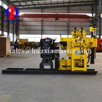 Drilling angle 90-75 degree hydraulic core drill the hoist is equipped with retainer geological survey drilling machine