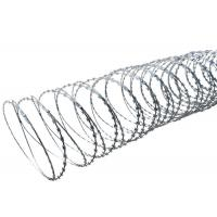 High Protection Razor Barbed Tape Wire , Blade Concertina Razor Wire Manufactures