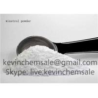 China Veterinary  CAS No 1045-69-8 White Cutting Stack Steroids , Winstrol Anabolic Steroids Powder on sale
