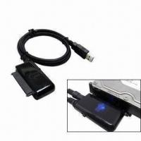 USB 2.0 to Sata I/II HDD Adaptor Cable with FCC and CE Marks Manufactures