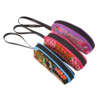 Quality woman embroidery Mini coin purse with Chinese traditional style for sale