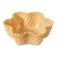 CE Crispy Tart Chocolate Waffle Cones 92mm Caliber , Custon Size Manufactures