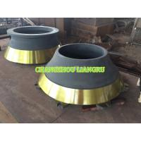 High Load Cone Crusher Spare Parts Concave Mantle Abrasion Resistant For Mining Manufactures