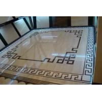China Waterjet Tile,Marble Stone Polished of the Waterjet Patterns Flooring Tiles on sale