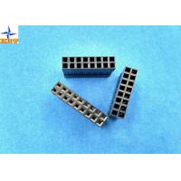 LVDS Connector 2.54mm Pitch Dual Rows Power Connectors PBT Material Without Nose Manufactures