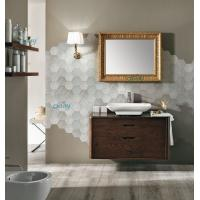 Wall Mounted Transitional Bathroom Vanities Simple Design For Small Space Bathroom Manufactures