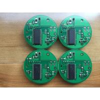 2 Layer Prototype PCBA Assembly 1OZ Green solder mask small boards makeup Manufactures