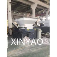 Single Shaft Plastic Shredder Machine For Waste PE PET Bottle / Film CE ISO9001 Manufactures