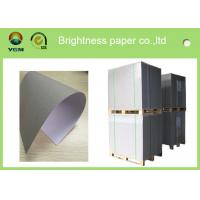 Recycled Premium Coated A4 Paper Board , Hard Stiffness Beverage Board Paper Manufactures