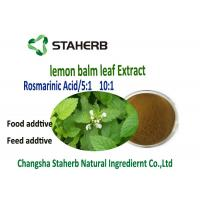 Lemon Balm Leaf All Natural Extracts Manufactures