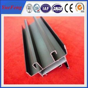 Hot! anodized extruded aluminium profile supplier, industrial aluminum extrusion suppliers Manufactures