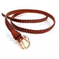 Sell jeans pants dress trousers genuine leather strap weaving braiding belts Manufactures