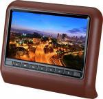 "Anti - Shock Active Headrest DVD For BMW, Audi, Renault 9"" Beige PAL, NTSC FM Dual IR Transmitter Manufactures"