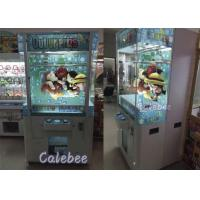 Attract and Fashion Cut Ur Prize Coin Claw Game Machine , Toy Crane Machine Manufactures