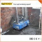 2017 Construction Auto Wall Plaster Rendering Machine Concrete Mortar Sprayer