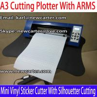 China A3 Vinyl Cutter Plotter With ARMS 12'' Cutting Plotter With AAS Mini Vinyl Sign Cutter 330 on sale