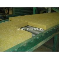 Rockwool Fireproof Insulation Roof Panel / Fireproof Glass Wool Insulation Manufactures
