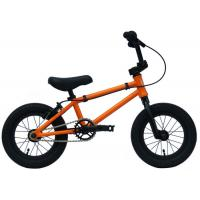 "Freestyle Custom Bmx Bikes Steel Fork Wheel Size 12 "" For Children Manufactures"