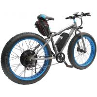 High Speed and Long distance electric Mountain bike 1500W 23AH Manufactures
