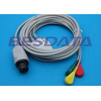 China Universal ECG Cables And Leadwires For GE Dinamap / Critikon OEM / ODM Available on sale