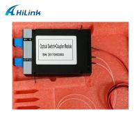 Fiber PON COUPLER Mechanical Optical Switch With ABS Box Module Manufactures
