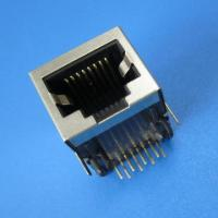 RoHS/UL 1x1 Port, 10/100 BaseT, rj45 connector with filter Manufactures