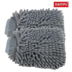 Microfiber Chenille Wash Mitt (XQC-C023) Manufactures