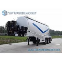 52 Cubic Meters Dry Bulk Tanker 15 Ton Cement Powder Trailer Manufactures