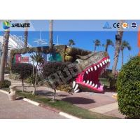 9 seats Mobile 7D Movie Theater and Vivid Dinosaur Profile More Appealing To Audiences Manufactures
