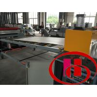High Efficiency Foam Plate Making Machine For Construction , 0.5-1m/Min Speed Manufactures