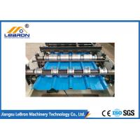 Good Performance Color Steel Tile Forming Machine High Production Efficiency Manufactures