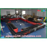 Black Snookball Inflatable Sports Games Foot Snook Inflatable Football Field