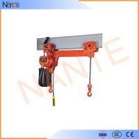 5 Ton Electric Chain Hoist With Electric Trolley , Low Headroom Type Manufactures