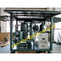 Double Stage High Vacuum Waste Transformer Oil Processing Purify  Regeneration Machine, Vacuum Recovery restoration unit Manufactures