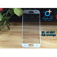 AGC Tempered Glass 3D Curved Screen Protector For Samsung A3 2017 White Color Manufactures